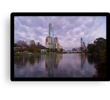 Melbourne City Canvas Print