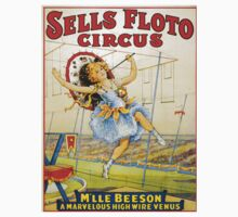 Vintage poster - Sells Floto Circus One Piece - Short Sleeve