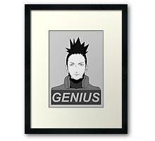 True Genius  Framed Print