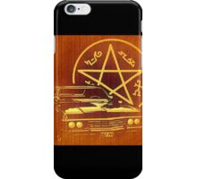 Supernatural Impala iPhone Case/Skin