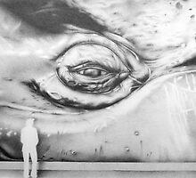 Whale eye by Diana Hlevnjak