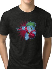 Chibi Captain Planet Tri-blend T-Shirt