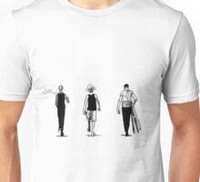 Luffy, Sanji, Zoro, One piece Unisex T-Shirt