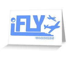 IFLY Warbirds Greeting Card
