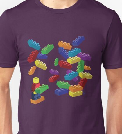 LEGOS and Minifigure Unisex T-Shirt