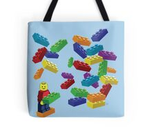 LEGOS and Minifigure Tote Bag