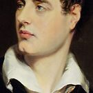 Lord Byron after a Portrait painted by Thomas Phillips in 1814 by Bridgeman Art Library
