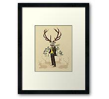 King stag Framed Print