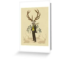 King stag Greeting Card