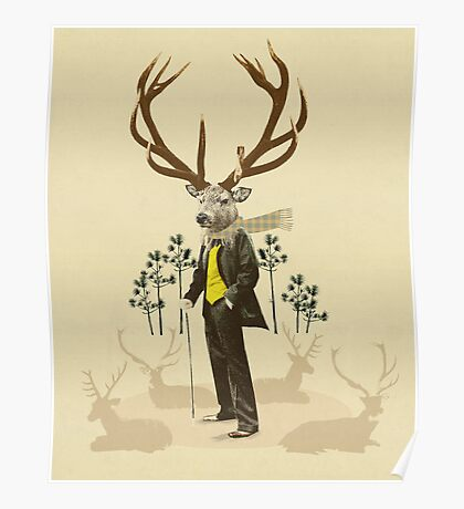 King stag Poster