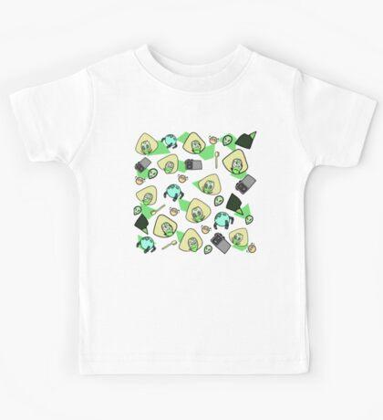 Green girl Kids Tee