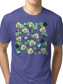 Green girl Tri-blend T-Shirt