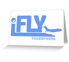 iFLY Transports Greeting Card
