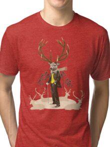 King stag Tri-blend T-Shirt