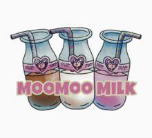Moo Milk   One Piece - Short Sleeve