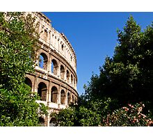 Summer morning view of the Colosseum Photographic Print
