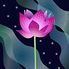 Star Lotus by Pat Alexander