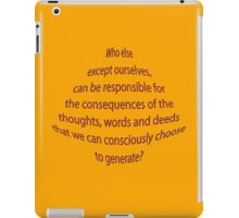 WHY do we have choices? iPad Case/Skin