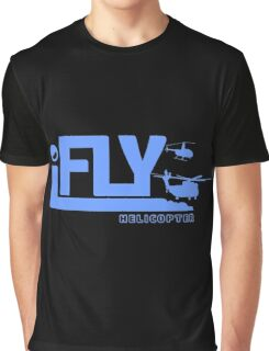 iFLY Helicopter Graphic T-Shirt