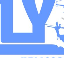 iFLY Helicopter Sticker