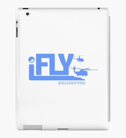 iFLY Helicopter iPad Case/Skin