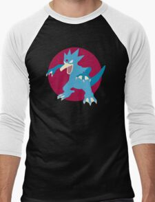 Golduck - Basic Men's Baseball ¾ T-Shirt