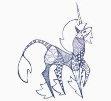 Patchwork Unicorn Kids Tee