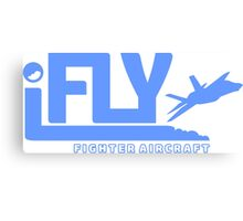 iFLY Fighter Canvas Print