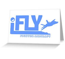 iFLY Fighter Greeting Card