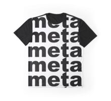 Meta. Graphic T-Shirt