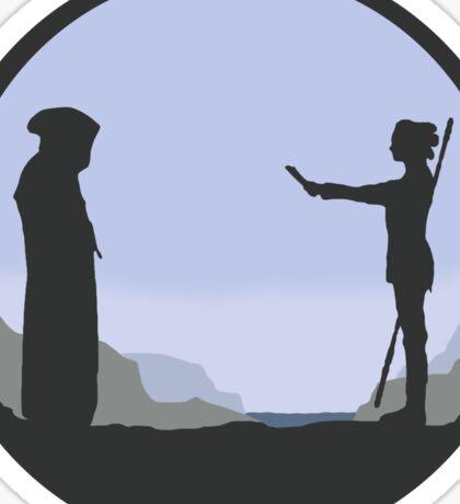 Meeting Luke - Minimal  Sticker