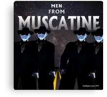 Men From Muscatine Canvas Print