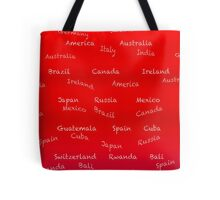 World travel gear Tote Bag