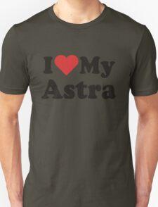 I Heart Love My Astra T-Shirt