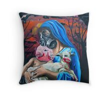The Madonna Throw Pillow