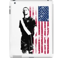 Dempsey with USA Flag iPad Case/Skin