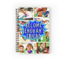 Become Jehovah's Friend Spiral Notebook