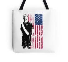 Dempsey with USA Flag Tote Bag