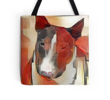 Bull Terrier - full frontal Tote Bag