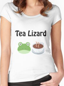 Tea Lizard Women's Fitted Scoop T-Shirt