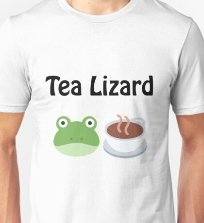 Tea Lizard Unisex T-Shirt