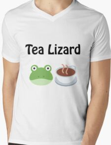 Tea Lizard Mens V-Neck T-Shirt