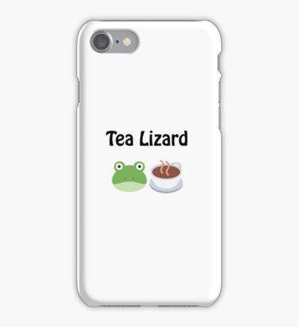 Tea Lizard iPhone Case/Skin