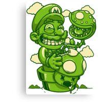 Mario Shrooms Canvas Print