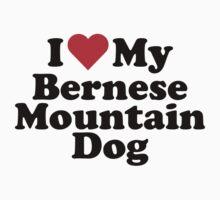 I Heart Love My Bernese Mountain Dog by HeartsLove