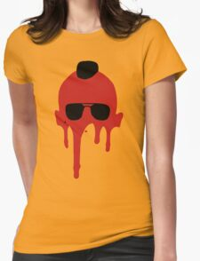 Taxi Driver, Travis Bickle Silhouette Womens Fitted T-Shirt