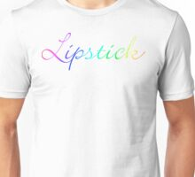 rainbow lipstick Unisex T-Shirt