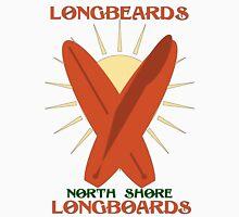 Longbeards North Shore Longboards Unisex T-Shirt