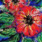 tropical flowers by catherine walker