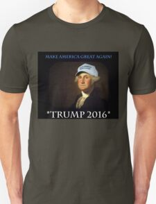 MAKE AMERICA GREAT AGAIN WITH TRUMP IN 2016! Unisex T-Shirt